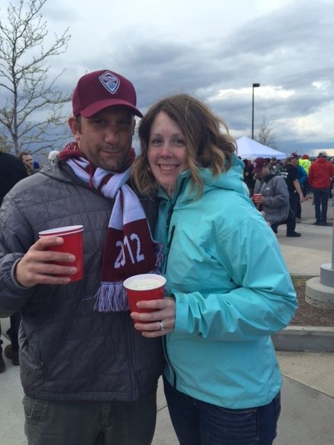 we went to Rapids games (well, AH Rapids game)