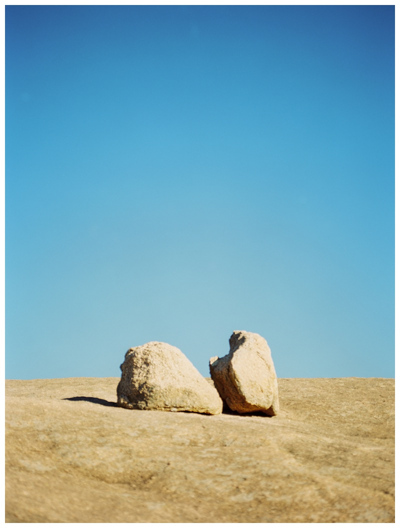 Rocks at Enchanted Rock in Texas. Film photography by Sonja Salzburg of Sonja K Photography.