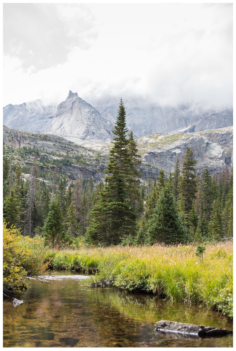 The Spearhead in Rocky Mountain National Park in Colorado. Film photography by Sonja Salzburg of Sonja K Photography.