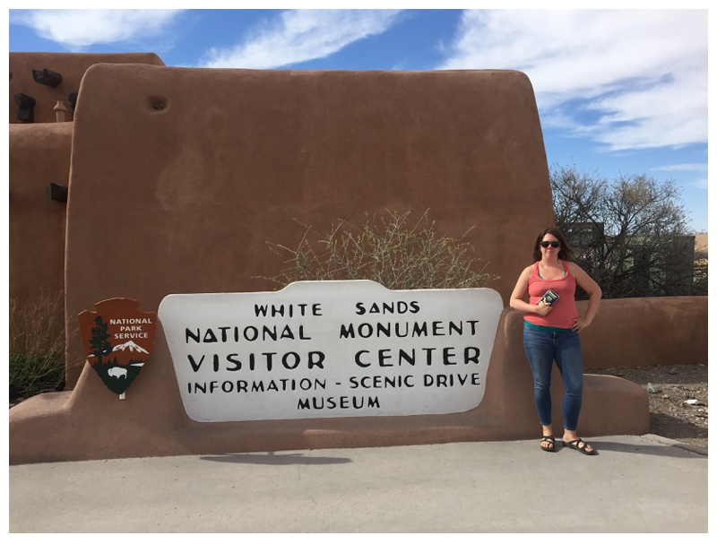 White Sands National Monument Visitor Center in New Mexico. Travel photography by Max Salzburg of Sonja K Photography.