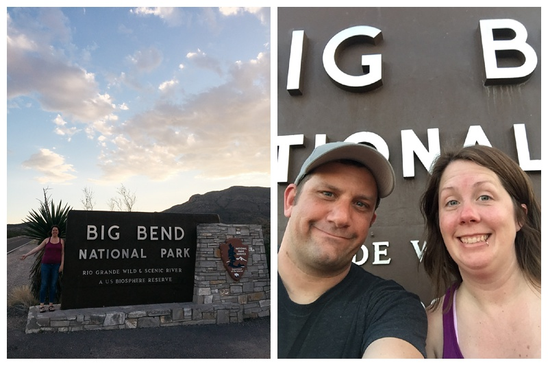 The gates of Big Bend National Park. Travel photography by Max and Sonja Salzburg of Sonja K Photography.