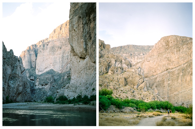 Boquillas Canyon in Big Bend National Park. Travel photography by Sonja Salzburg of Sonja K Photography.
