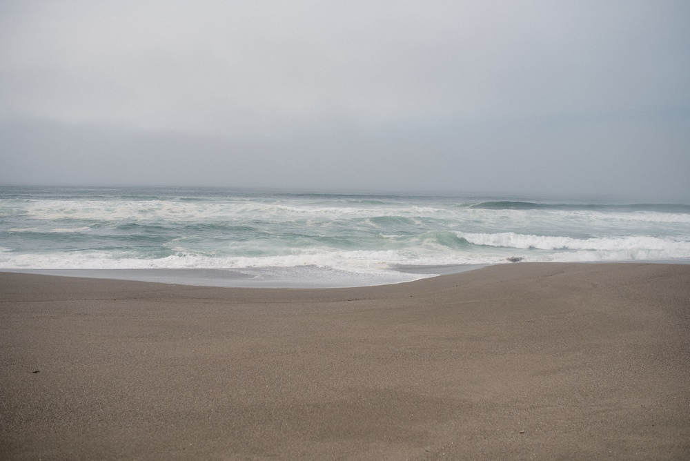The beach at Point Reyes South Beach near Point Ryes Station in California. Travel photography by Sonja Salzburg of Sonja K Photography.