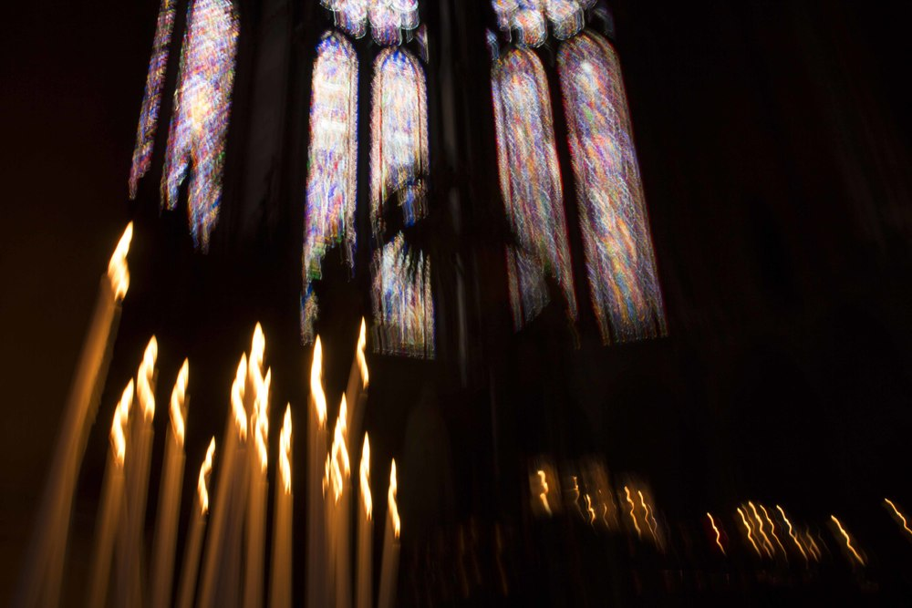 Colors of Reims Cathedral #4, 2012