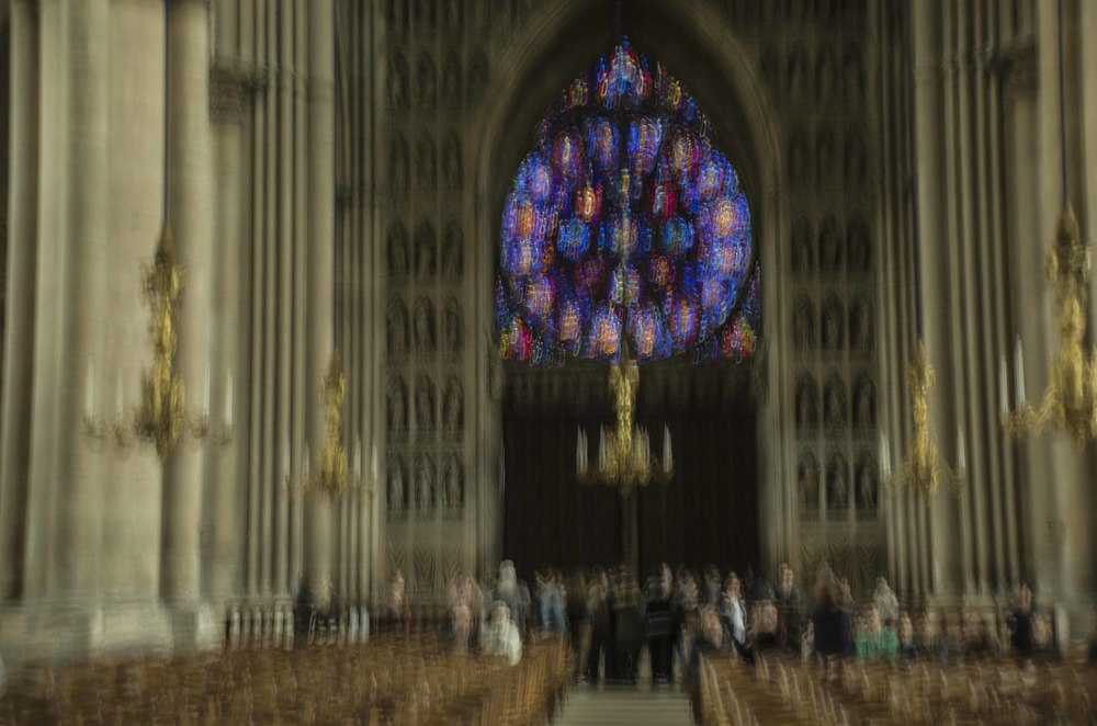 Colors of Reims Cathedral #5, 2012