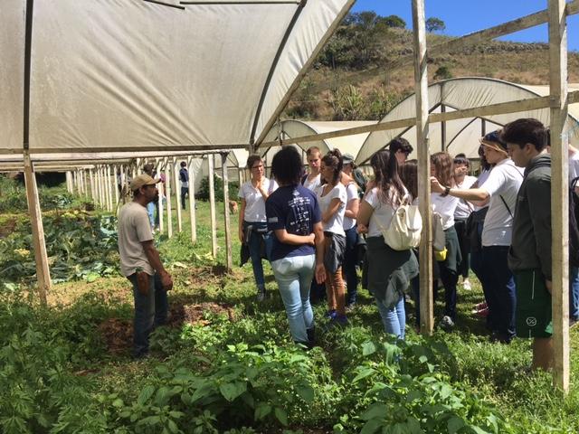 Escola Carolina Patrício - visita Vale das Palmeiras