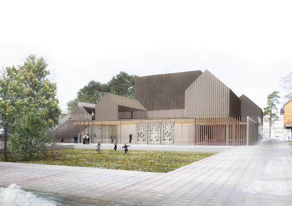 DOARCHITECTS Agila Cultural Centre