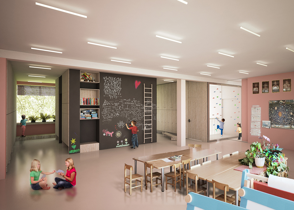 DO ARCHITECTS Smalsučiai Kindergarten: Rethinking Educational Spaces