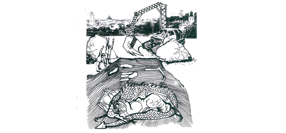 A.Uoginto iliustracija.