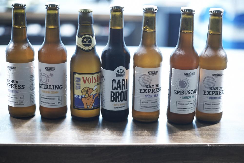 Bieres la Nébuleuse & Trois Dames