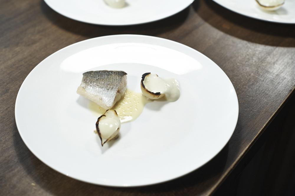 Felchen, Absynth, Beurre blanc & Senf