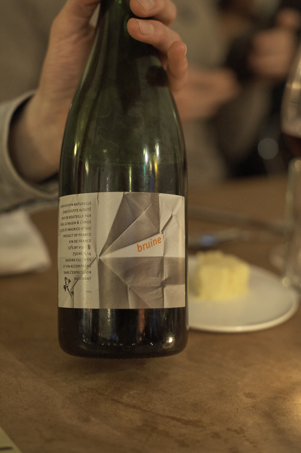 BRUINE, LE RAISIN ET L'ANGE 2014 RHÔNE H & V: «Rosé-Bubbles zum Vorglühen und Absacken»