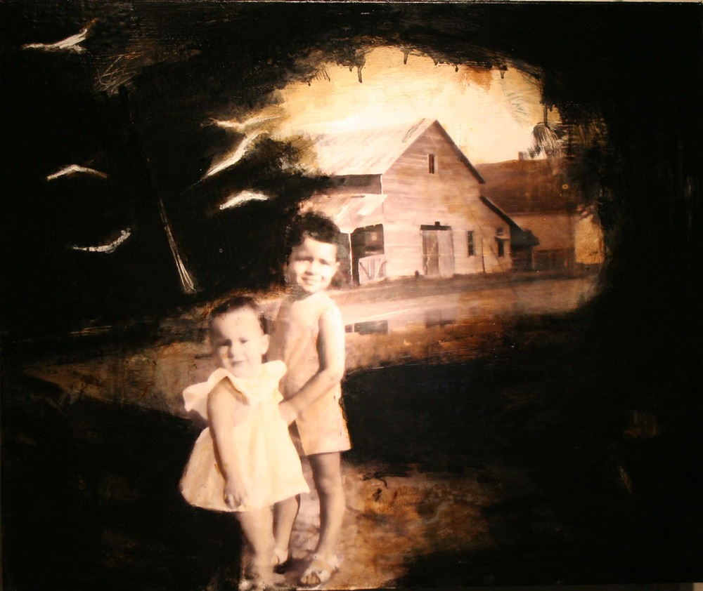 Distant memories 30x36 w wax Sold.jpg