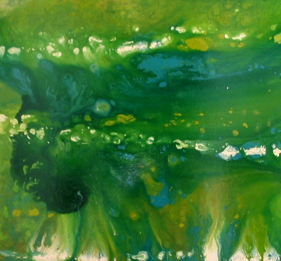 Depth of Serenity  36x36 Sold