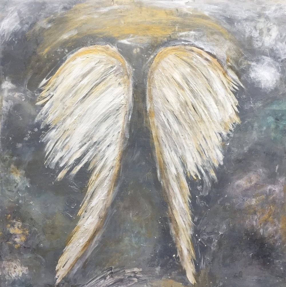 "Heavenly Hope  36""x36"" Available"