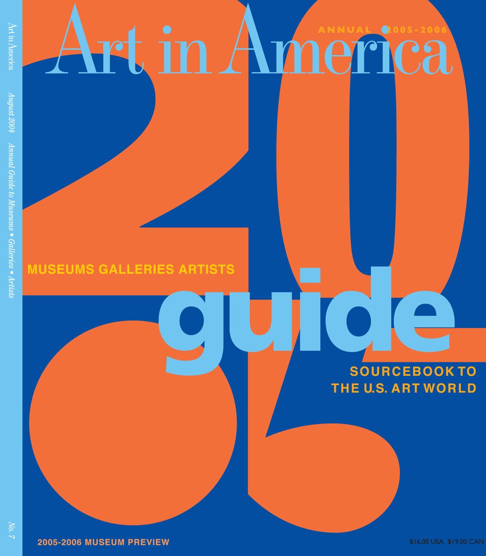 Art in America 2005 Guide Cover