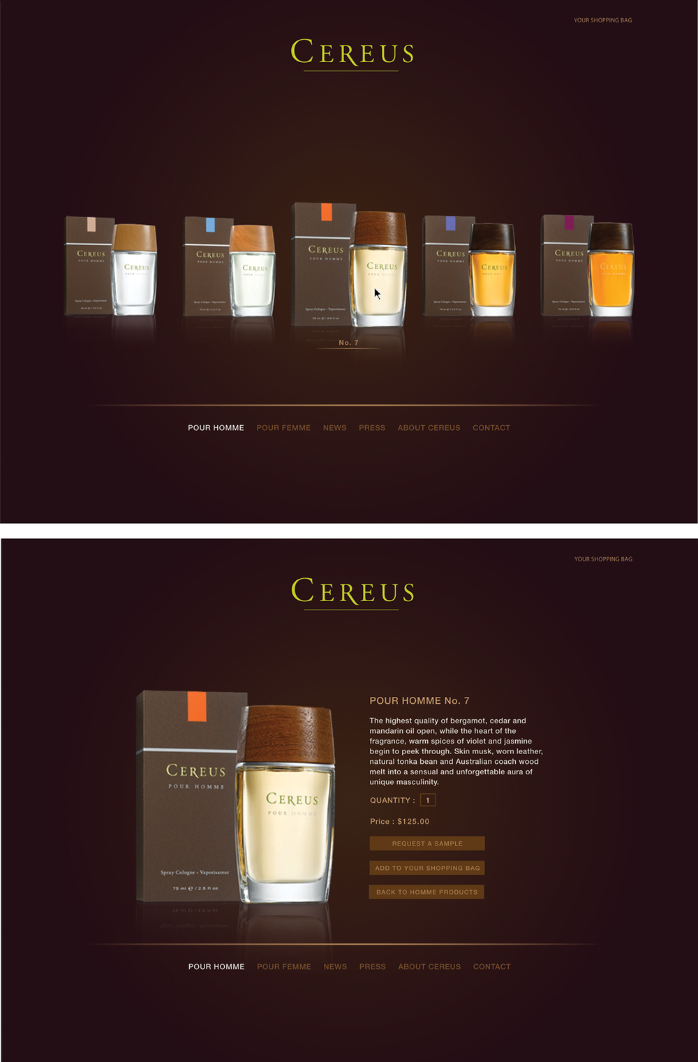 Cereus Website