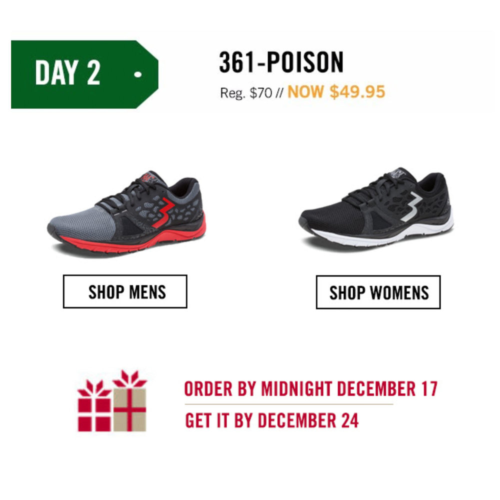 Save $20.00 on any 361-Poison purchase.