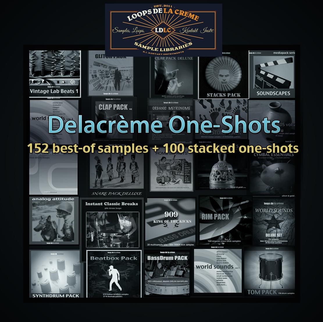 252 free one-shot samples — loops de la crème