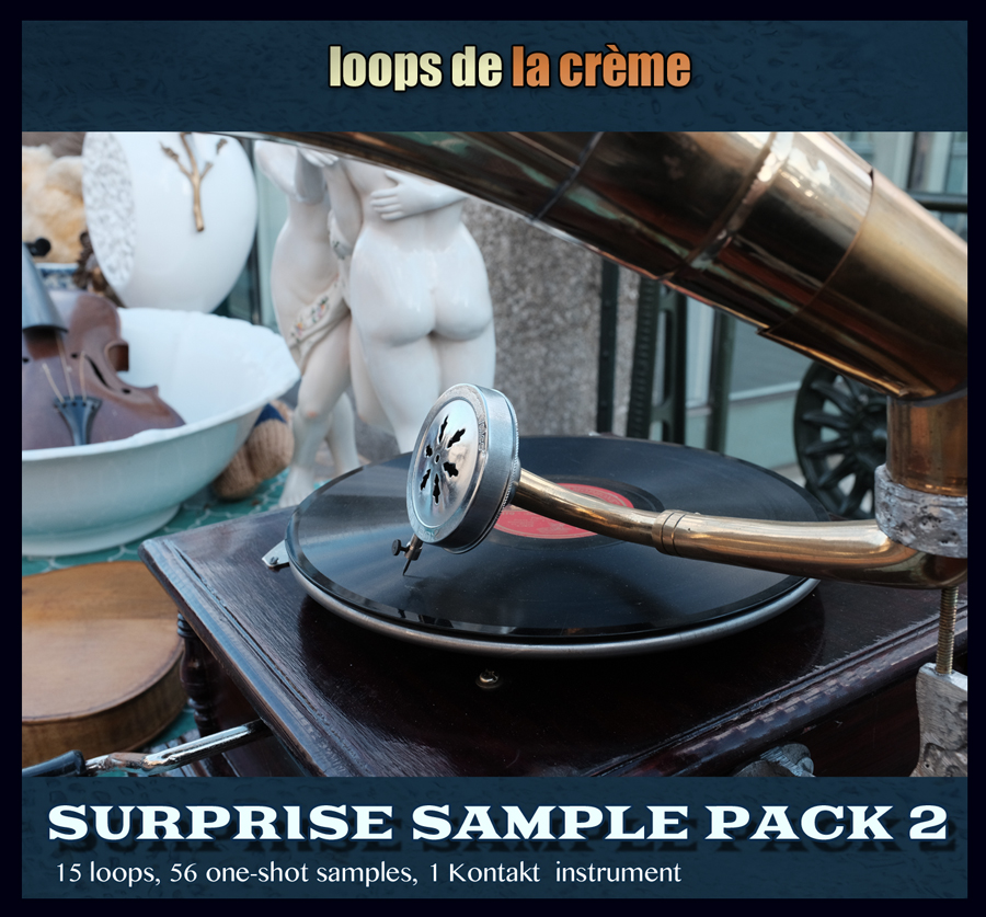 SURPRISE SAMPLE PACK2 :   'Everybody loves a surprise!'