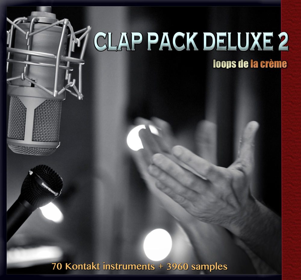 CLAP PACK DELUXE 2-handclaps samples finger snaps samples group claps