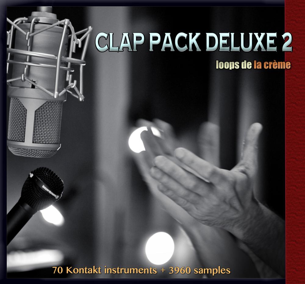 clap pack deluxe 2 loops de la crème