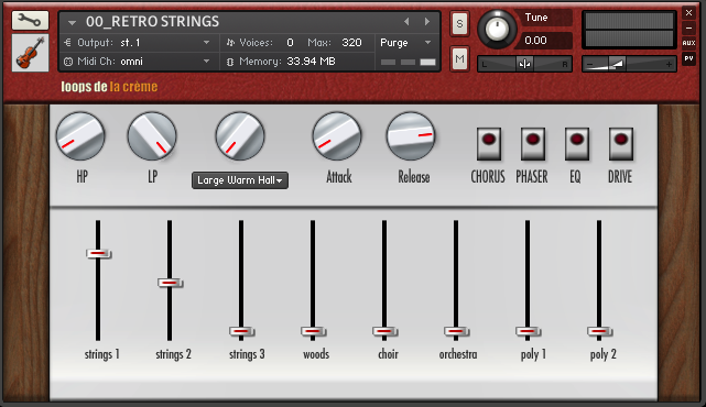 retro strings