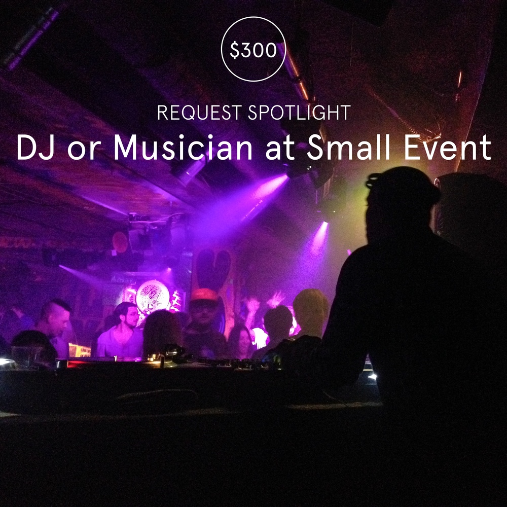 Request Spotlight DJ Or Musician At Small Event Snapwire Blog