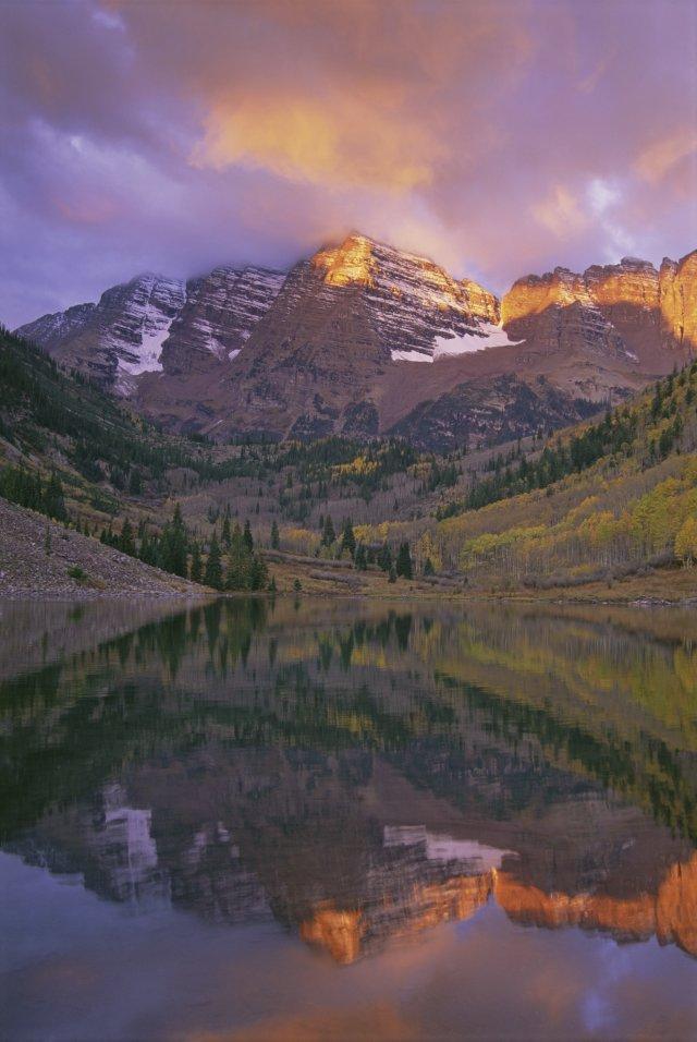 Photo by: Mint ImagesMaroon Bells in Colorado