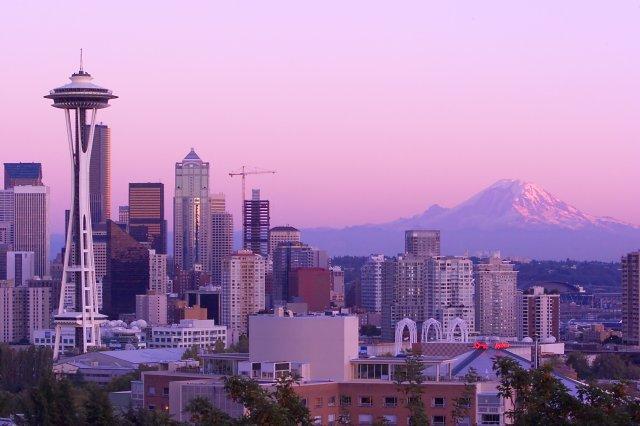 Photo by: Jose Jarosz Seattle, Washington (Mt. Rainier in the background)