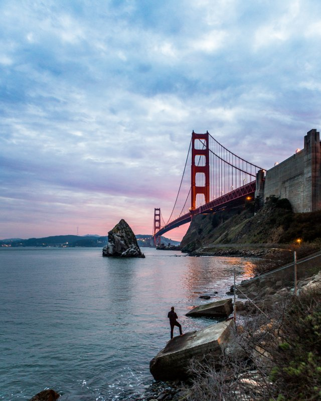 Photo by: Scott Gordon Golden Gate Bridge San Francisco, California