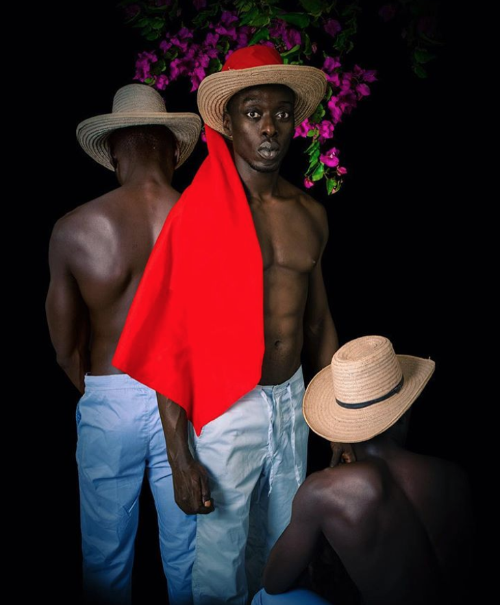 Self Portrait by: Omar Victor Diop