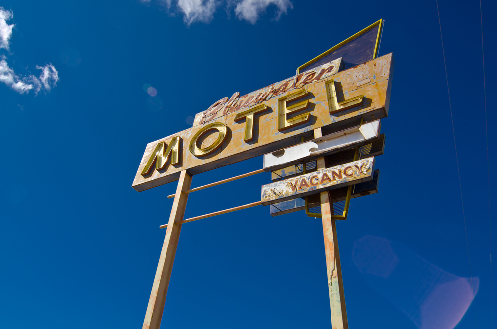 Bluewater Motel - Route 66, 2012