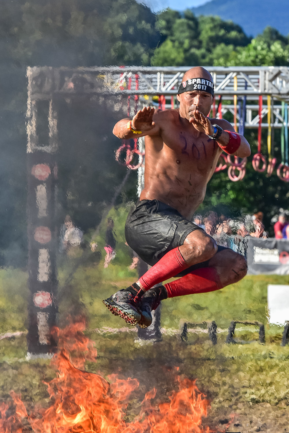 Spartan Asheville Fire Jump 2017 1
