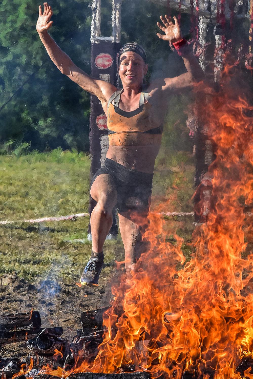 Spartan Asheville Fire Jump 2017 3