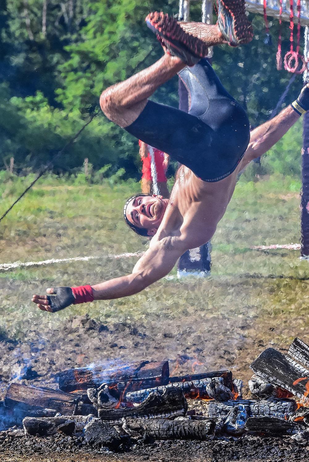 Spartan Asheville Fire Jump 2017 4
