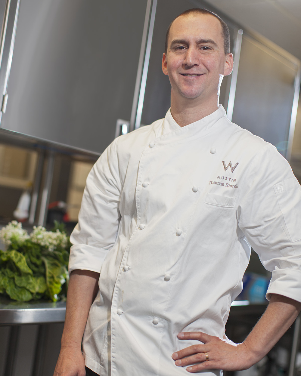 Thomas Riordan, Executive Chef