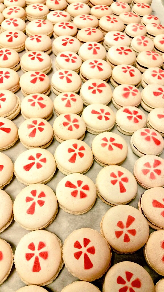 Miles of Macarons for Yelp, February 2015