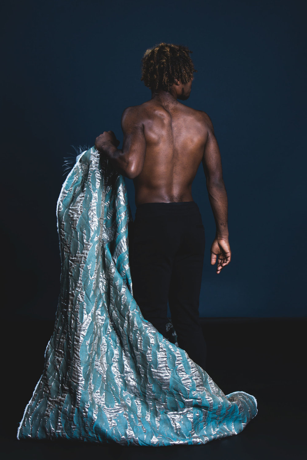 Katie Buchanan Textiles A look-book for Buchanan's thesis collection inspired by the rapport between human and the sea.