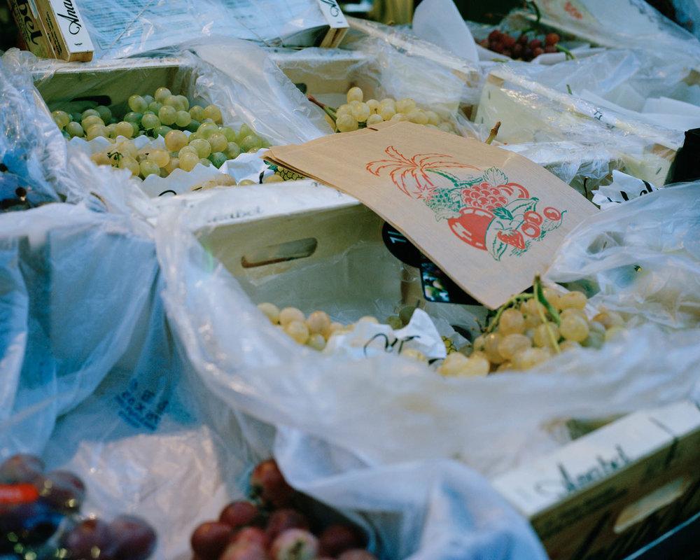 Paris, France - 2015 Un marché fermier à la 6ème