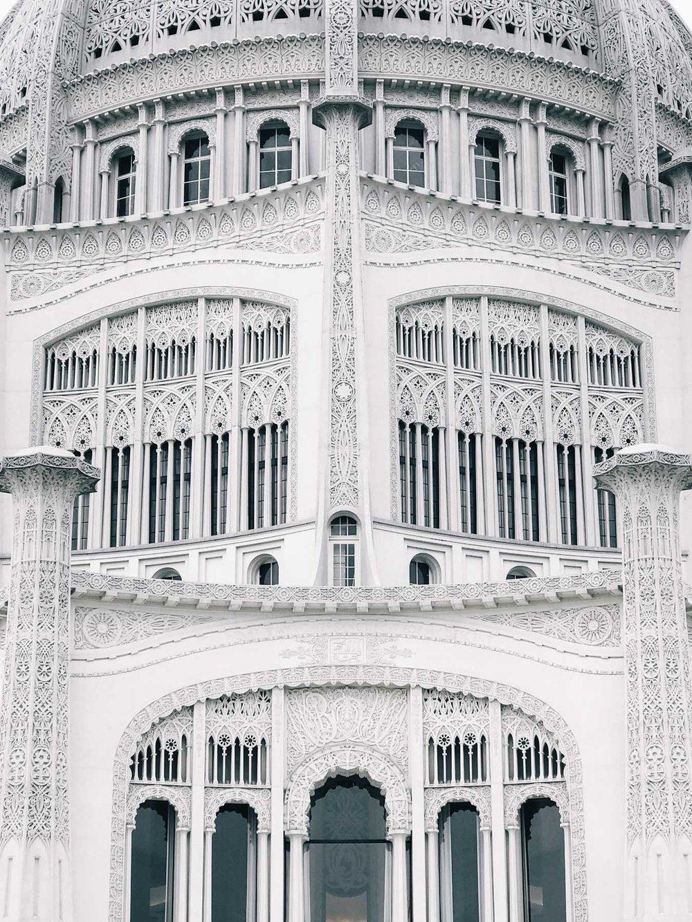 Baha'i House of Worship.