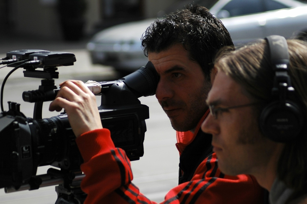 Cinematographer, Alex Dacev & Director, Ken Simpson