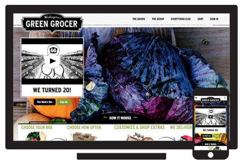 Washington's Green Grocer //  Agency: Inclind