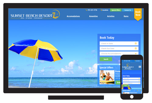 Sunset Beach Resort  //  Agency: Inclind