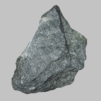 Soapstone is a metamorphic rock composed of mostly mineral talc.
