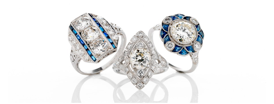 estate engagement rings siegel jewelers
