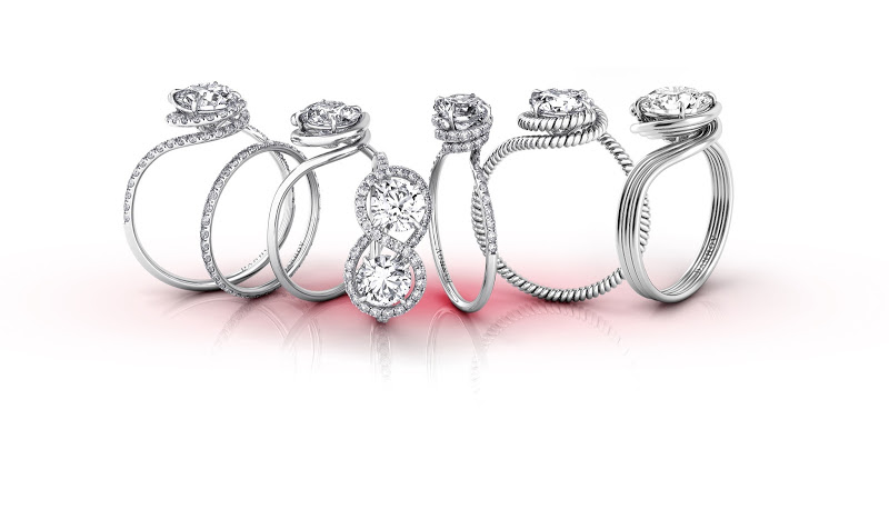 for her engagement wedding rings siegel jewelers
