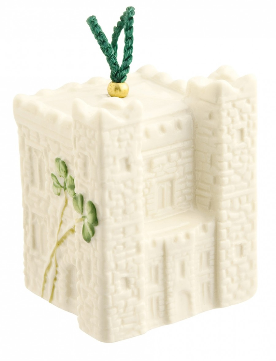 Belleek 2014 | Ardee Castle Ornament  4237 - Fine Parian China | $35.00 Made in Ireland