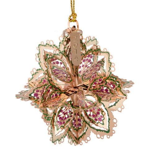 ChemArt 2014 | Annual Snowflake 53119 - 24k Gold Plated | $40.00  Made in the USA