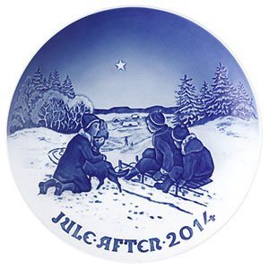 Bing & Grondahl | 2014  Christmas Plate  120th Edition 1902213 - Porcelain | $105.00 Made in Denmark